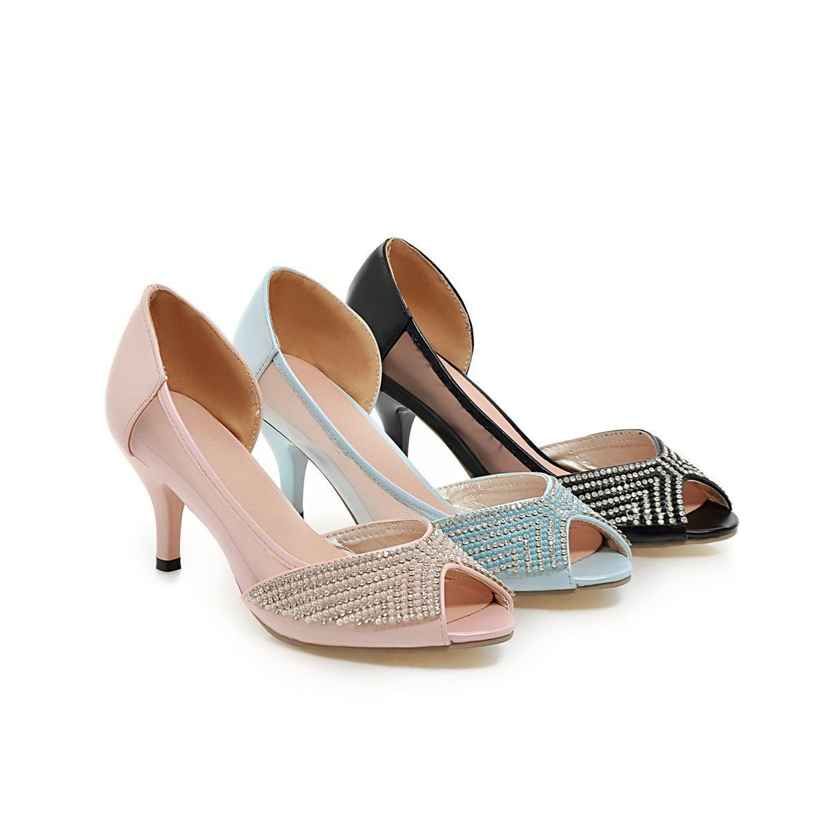964b54d9882 Heels: approx 7 cm Platform: approx - cm Color: black, blue, pink Size: us  2, 3, 4, 5, 6, 7, 8, 9, 10, 11, 12 (All Measurement In Cm And Please Note  ...