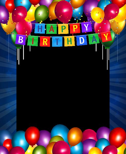 Pin by Anahita Daklani on Happy Birthday Frames | Pinterest | Happy ...