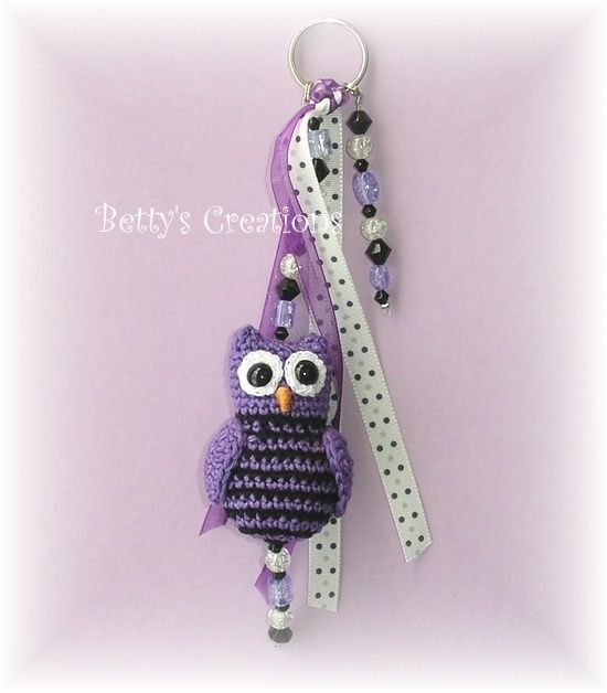 crochet owl - Hkeleule #crochet #owl #hkeln #eule #anleitung #Muster ...
