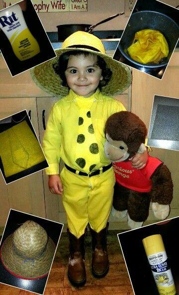 Curious George Homemade Halloween Costume