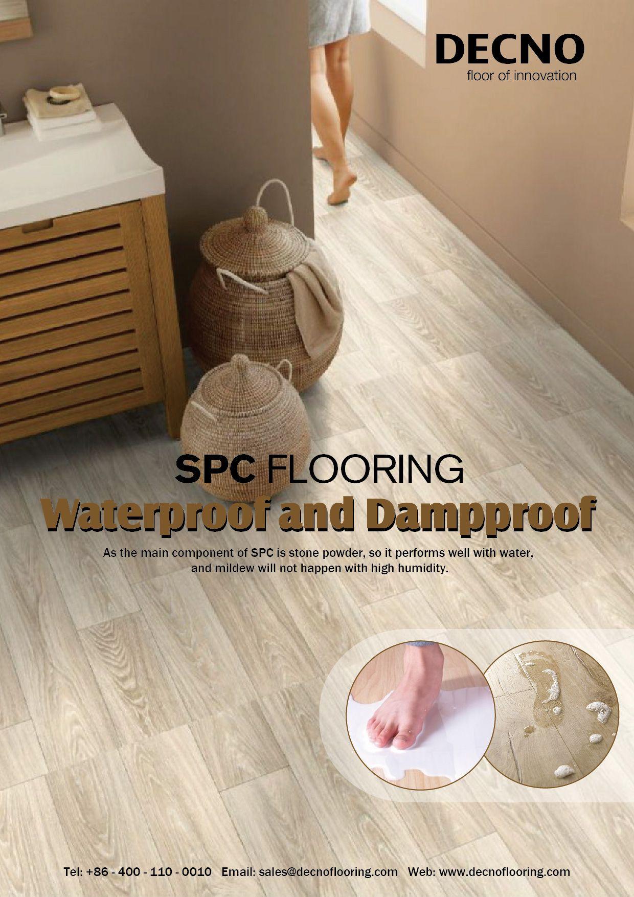Spc Flooring Stands For Stone Plastic Composite And Decno S Spc Floor Is Designed To Exceed The Main Compo Vinyl Flooring Flooring Waterproof Flooring Vinyls