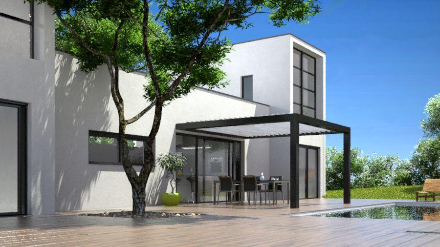 Illustration 3d extérieur anoukis 3d architecture pinterest extérieur 3d et studios