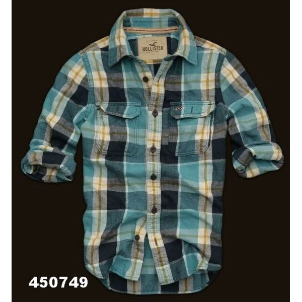 9551c45df9 camisa xadrez hollister masculina 3