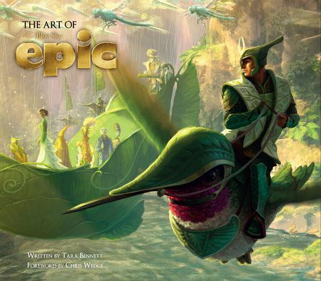 From 20th Century Fox Animation and Blue Sky Studios, the creators of Ice Ageand Rio, Epic tells the story of an ongoing battle deep in the forest betweenthe forces of good and the forces of evil.    When a teenage girl finds herself magically transported into this secretuniverse, she must band together with a rag-tag team of fun and whimsicalcharacters in order to save their world -- and ours.    The Art of Epic shines a light on the previously hidden world of Epic, withover 300 pieces of conce