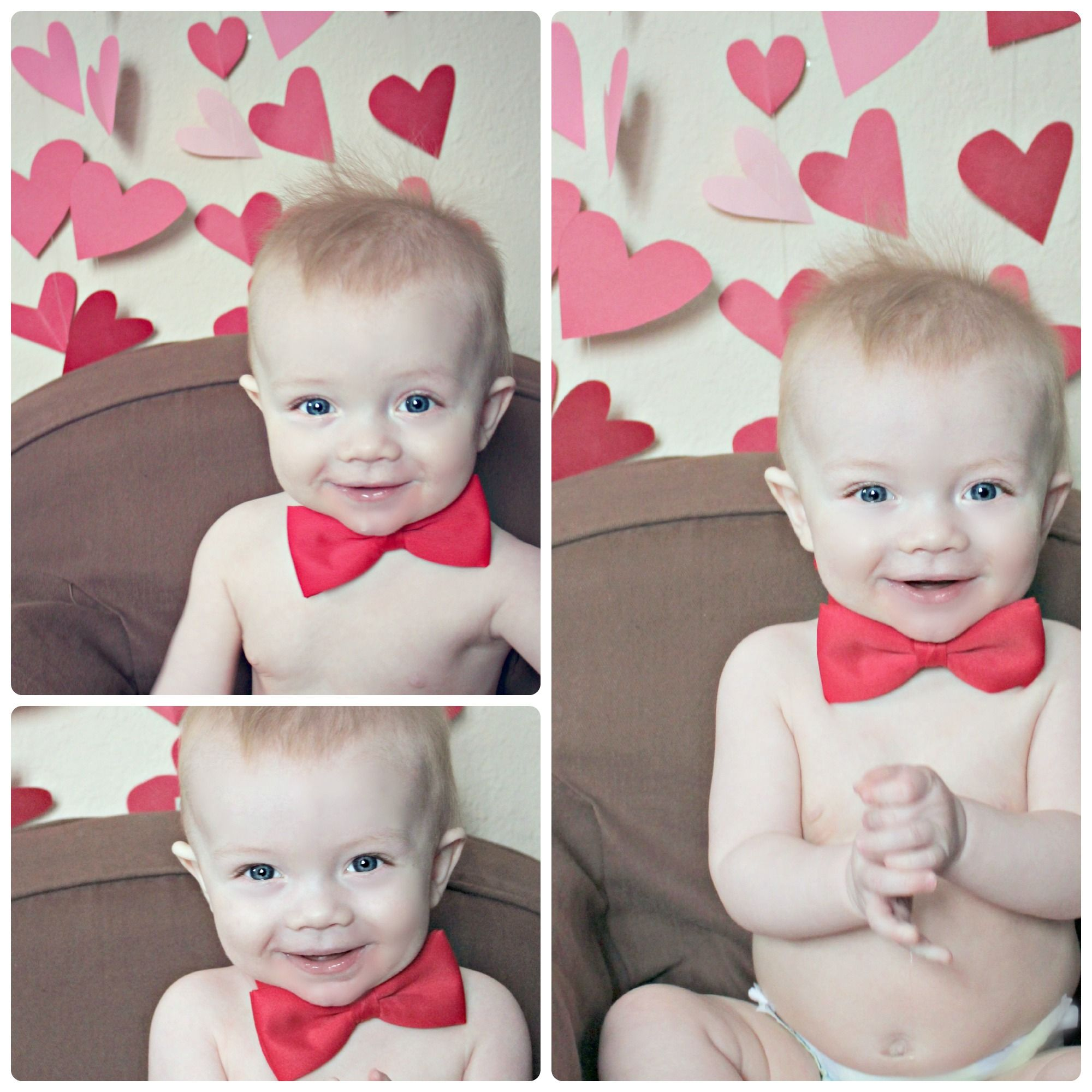Valentines Day Baby Photo Shoot