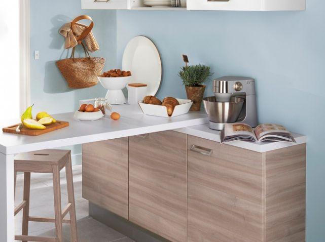 agrandir sa petite cuisine elle d coration wavrin. Black Bedroom Furniture Sets. Home Design Ideas