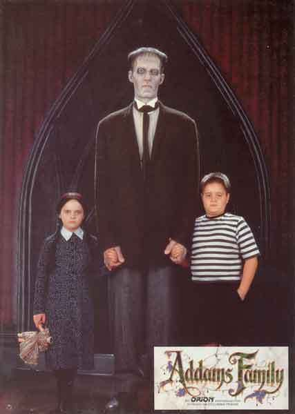 Wednesday Lurch And Pugsley With Images Addams Family