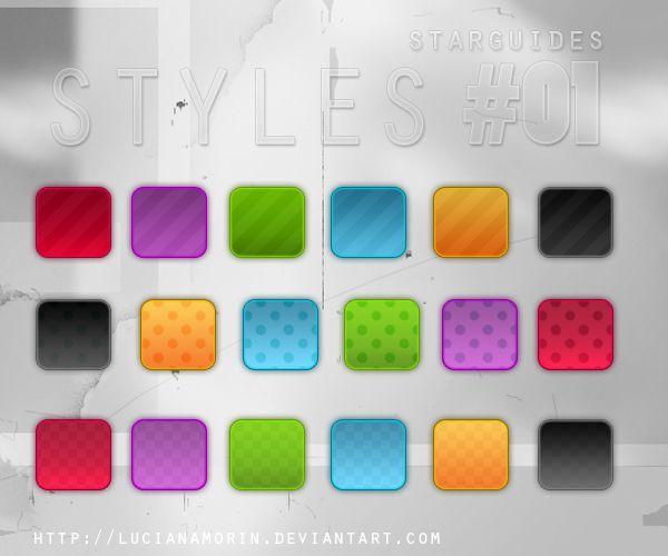 Styles 01 By Lucianamorin Photoshop Brushes Free Free Photoshop Style