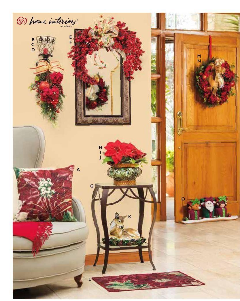 home interiors catálogo navidad 2016 navidad