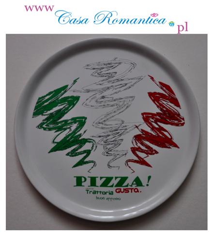 talerz pizza  shabby chic vintage shop  www.casaromantica.pl