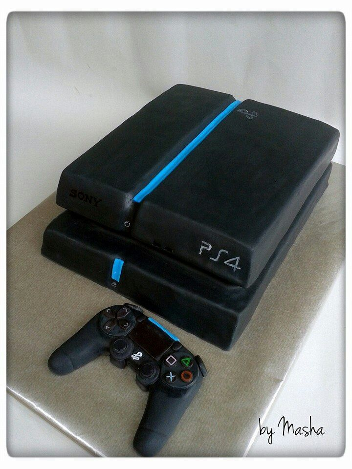 Ps4 Cake Playstation Torta PS4 Ingameplay Ms