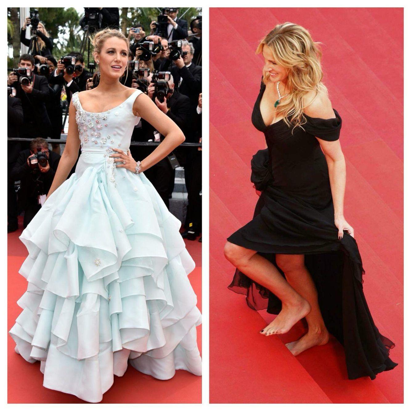 #poramaisb - Inspiration In <3<3 Love, Cannes 2016: Nossos looks preferidos; a elegância de Blake Lively (linda e grávida) +  produções inspiradoras, grifadas, com farfalhar de seda. E as atrizes que dispensaram o sapato para fotos, protesto contra a 'saia justa' de 2015, quando algumas convidadas foram barradas por usarem sapatilhas