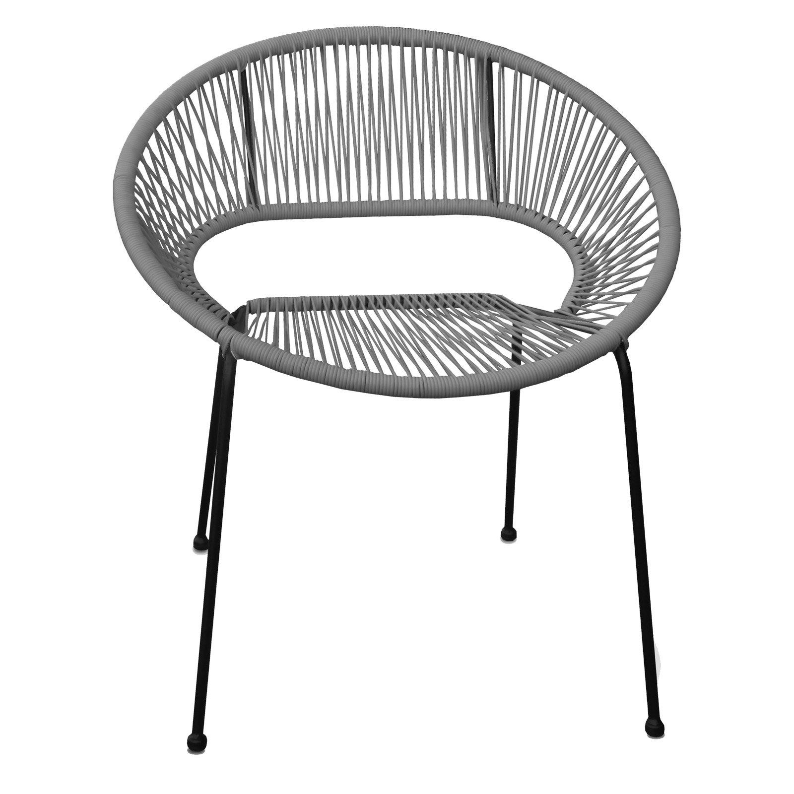 Harmonia Living Acapulco Patio Dining Chair Patio Dining Chairs Stylish Outdoor Furniture Backyard Furniture