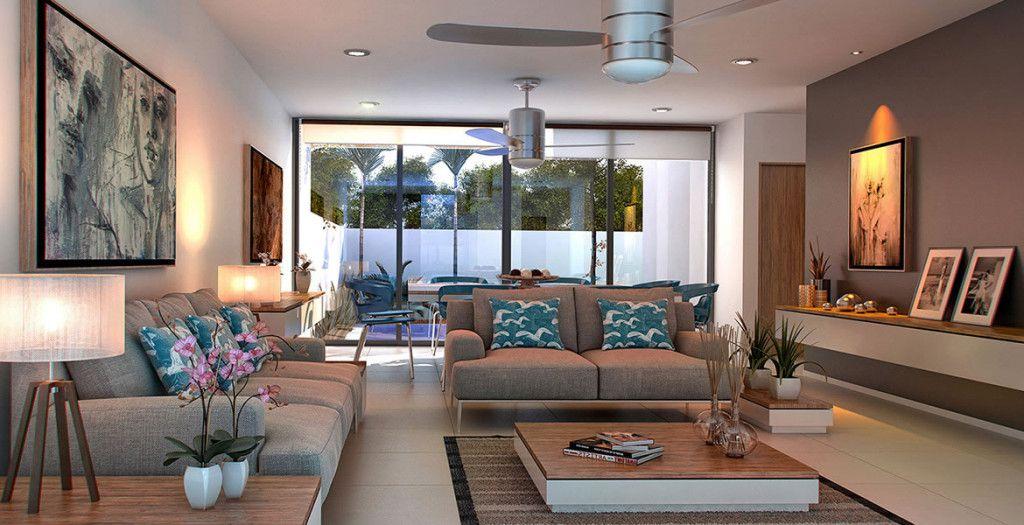 Sala moderna sala living room pinterest sala for Como disenar mi sala