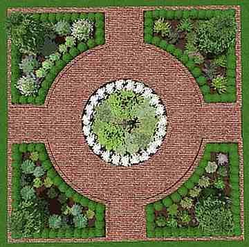 Formal Herb Garden Courtyard Lay Out Google Search Garden Design Pictures Garden Design Plans Herb Garden Design