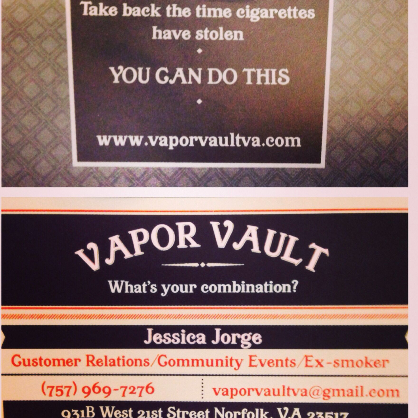 My new business cards came in vapor vault va vaporvaultva my new business cards came in vapor vault va vaporvaultva reheart Gallery