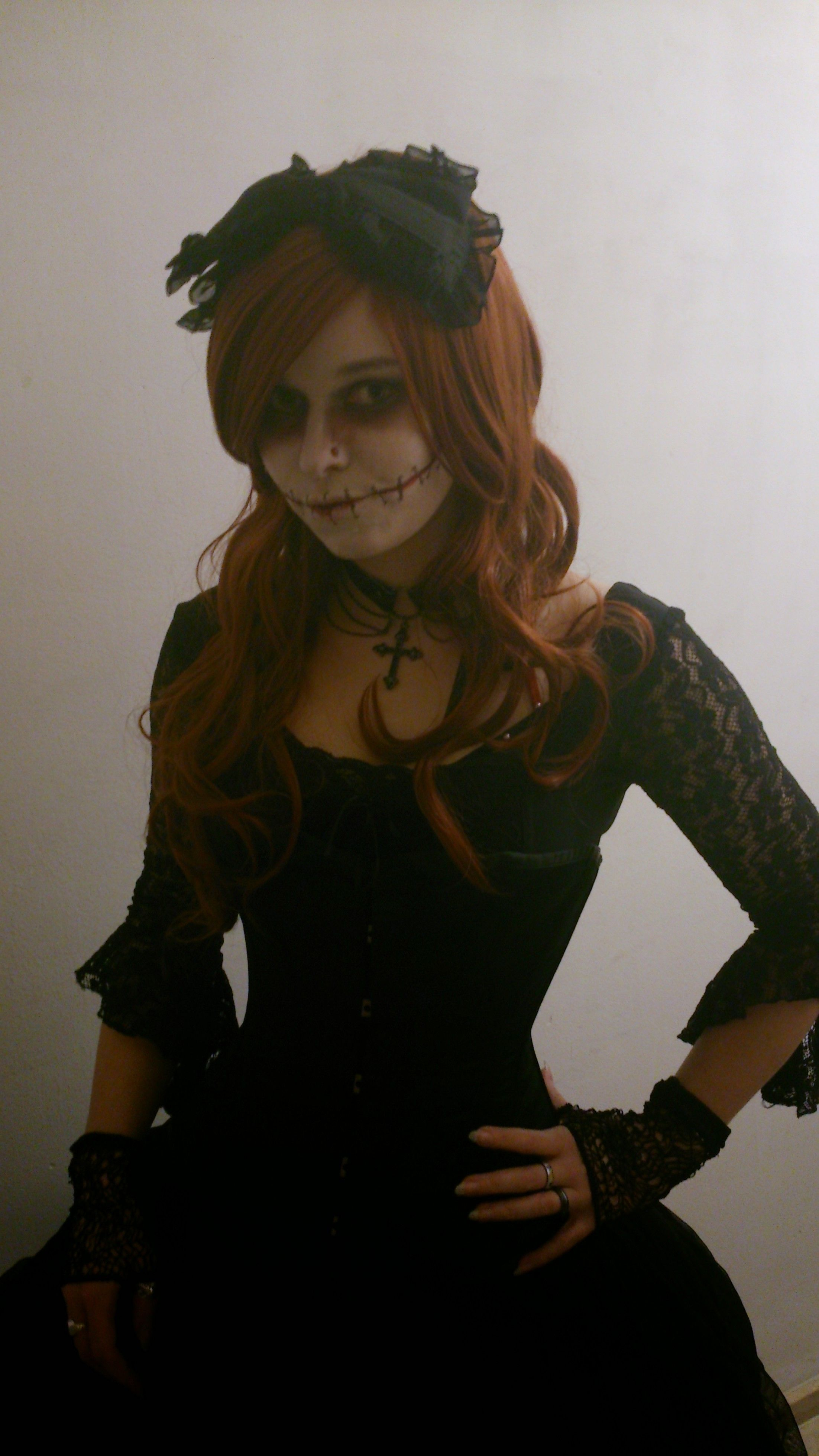 Scary doll, halloween 2014
