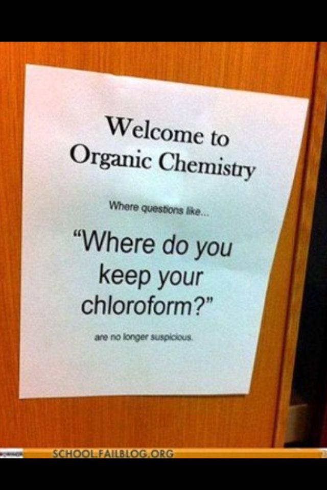 Organic Chemistry | Chemistry jokes, Science jokes, Science ...