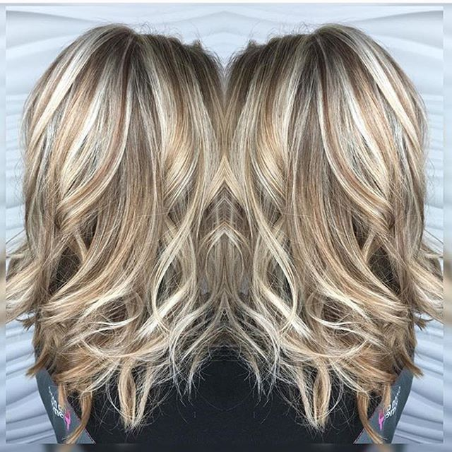 Blonde Highlights And Lowlights Google Search Hair Lengths Hair Styles Hair Color Highlights