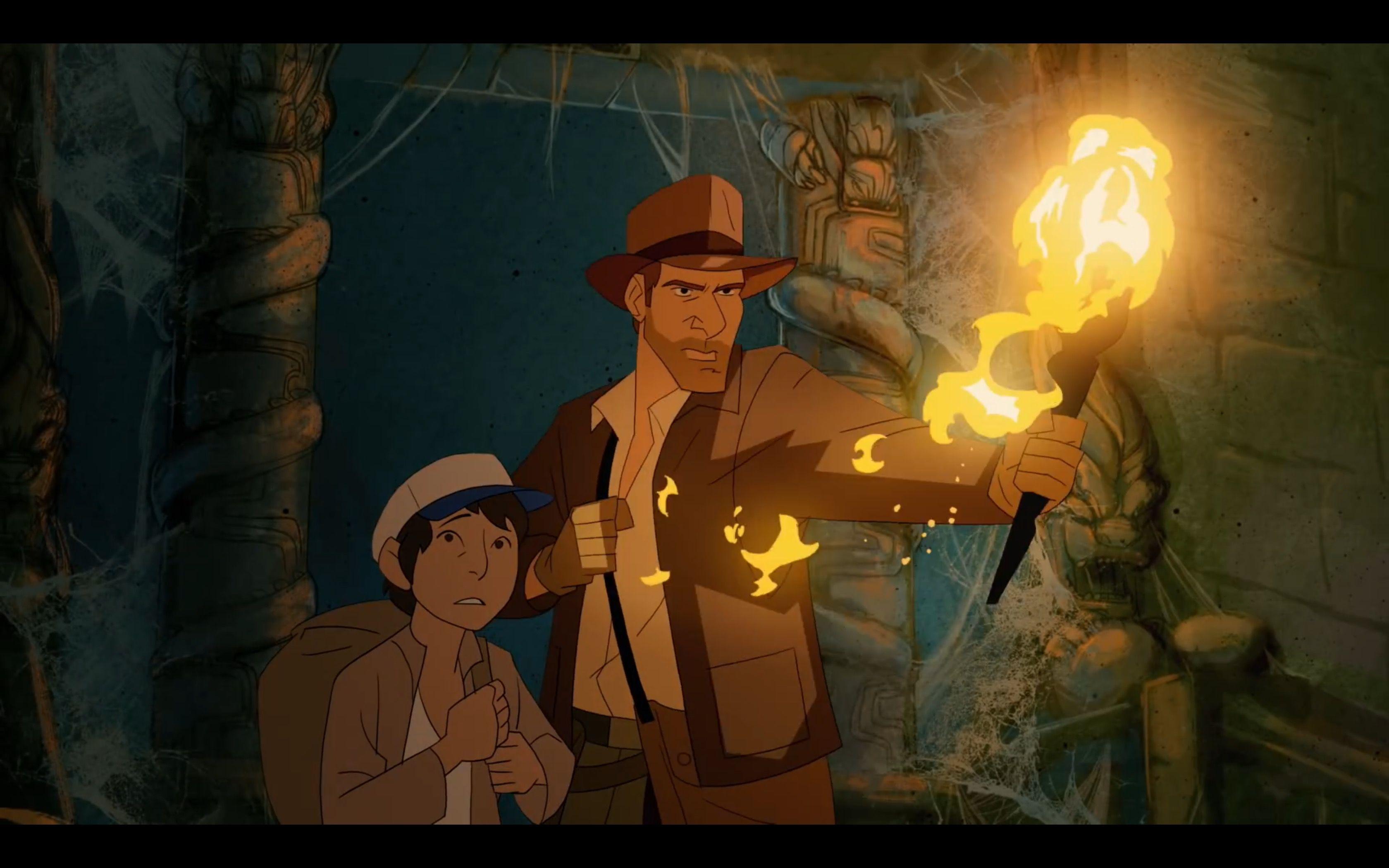 The Adventures Of Indiana Jones By Patrick Schoenmaker Indiana Jones Indiana Jones Films Animation
