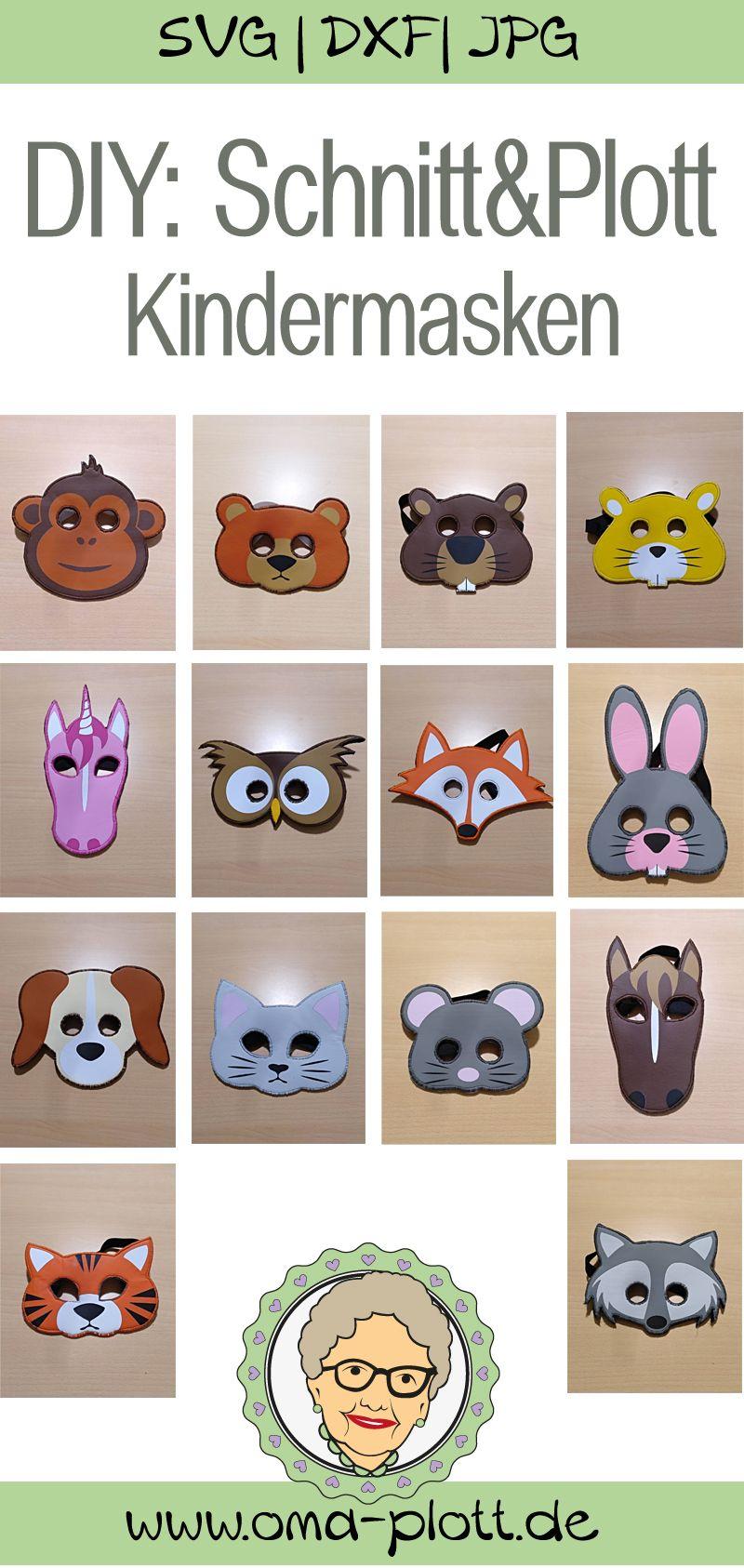 DIY: Tiermasken für Kinder
