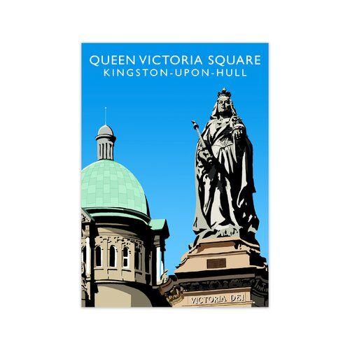 Photo of Grafikdruck Queen Victoria Square von Richard O'Neill Corrigan Studio Größe: 60 cm x 42 cm