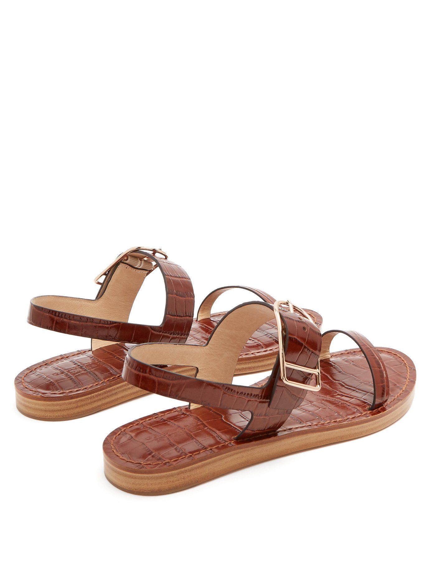 Dunhill leather sandals Gabriela Hearst New Cheap Online Sale Fake 2018 Newest Cheap Price Free Shipping Eastbay nl4fNuS