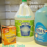Using only baking soda, vinegar and dish detergent you can make your o… :: Hometalk
