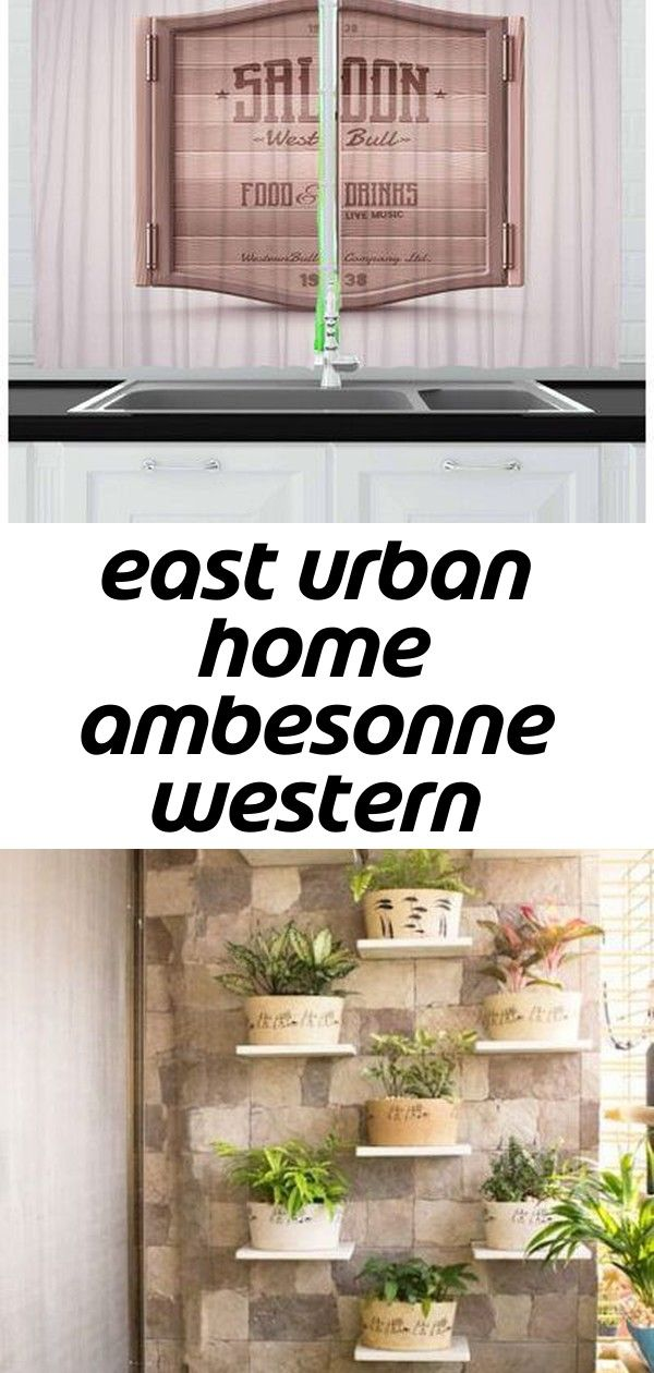 East urban home ambesonne western kitchen curtains antique saloon door pattern old american entra 1 East Urban Home Ambesonne Western Kitchen Curtains Antique Saloon Door...