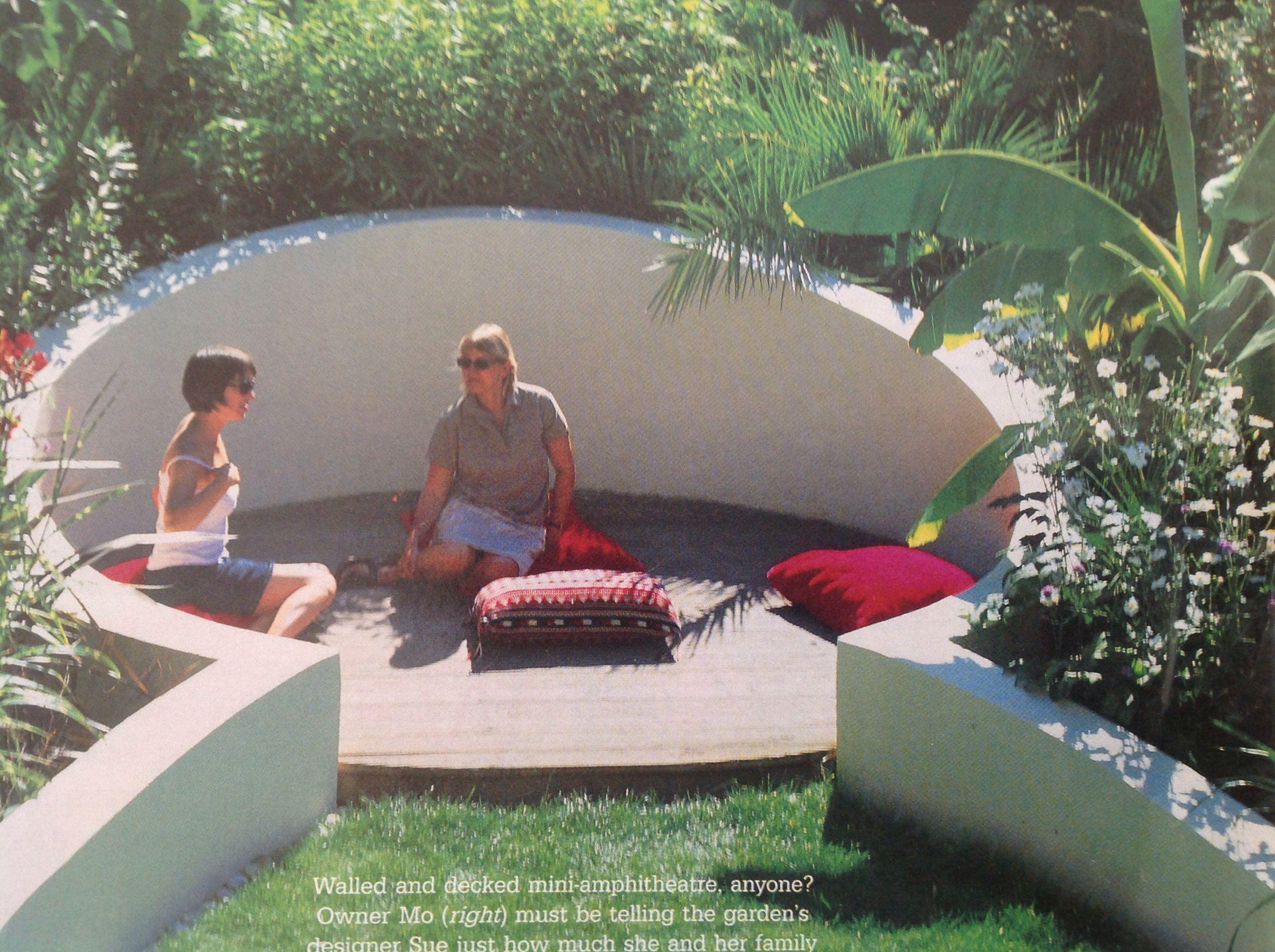 Outdoor Amphitheatre Garden Seating Outdoor Room