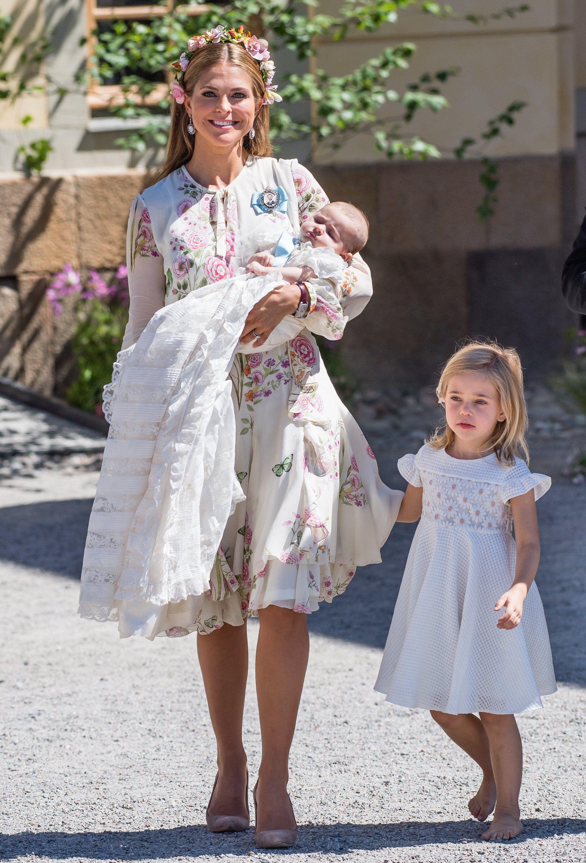 Swedish Prince Crown Baby Bodysuit One Piece