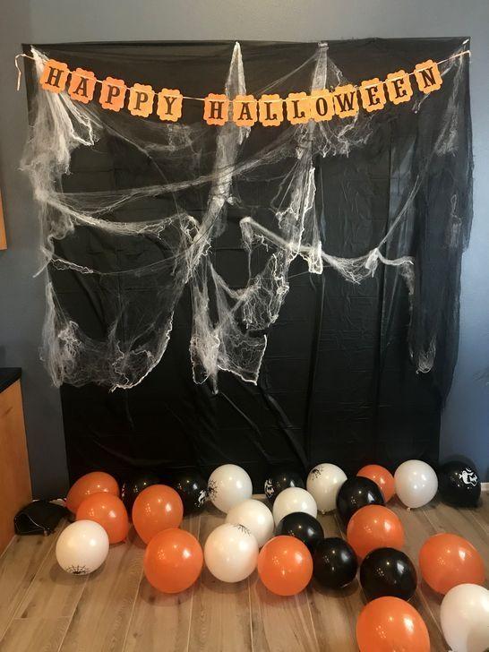 48 Creepy Halloween Photos Backdrop For Halloween Party Decor
