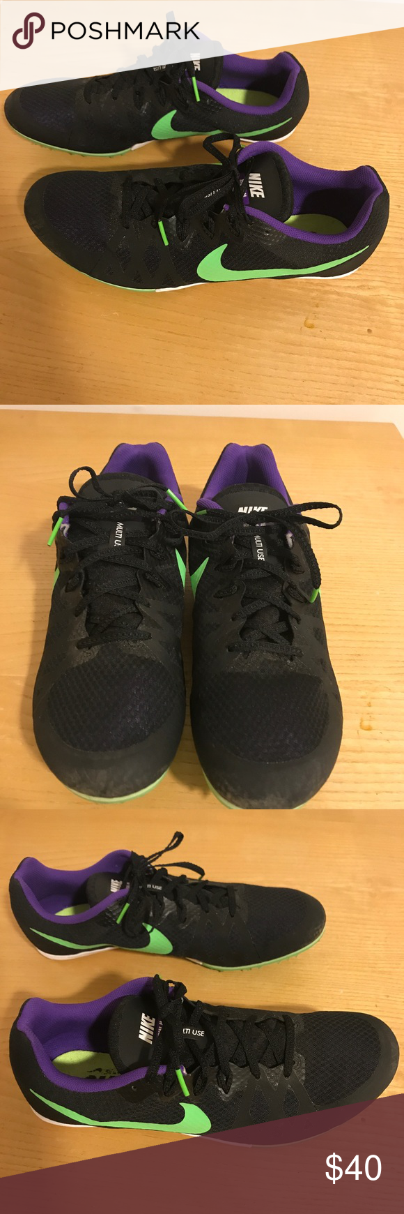 MEN'S NIKE ZOOM RIVAL MD 8 Fine tuned for events ranging from 100m to 1500m  and hurdling/ jumping events, Nike Zoom Rival MD 8 Men's Track Spike fits  like a ...