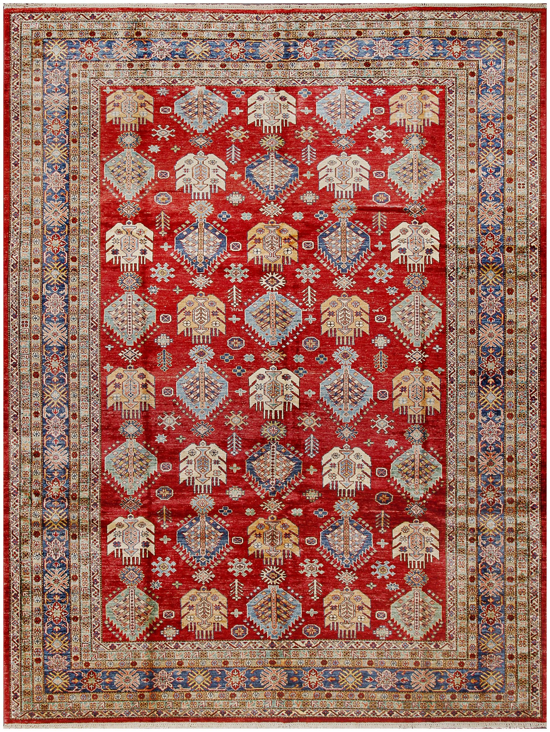 Navy Wool Rug 19005 8 9x12