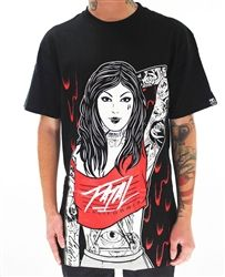 NEW!  Fatal Clothing Dignity T Shirt Black  Our Price: $28.00  Sale Price: $24.00   #Tattoo inspired #Spring2013 #Collection #instock