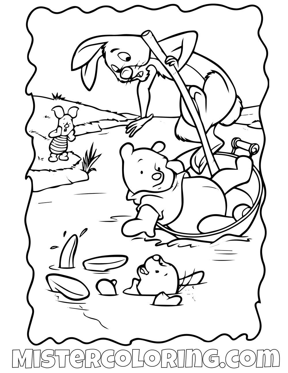 Winnie The Pooh 13 Coloring Page Winnie The Pooh Pictures Winnie The Pooh Coloring Pages