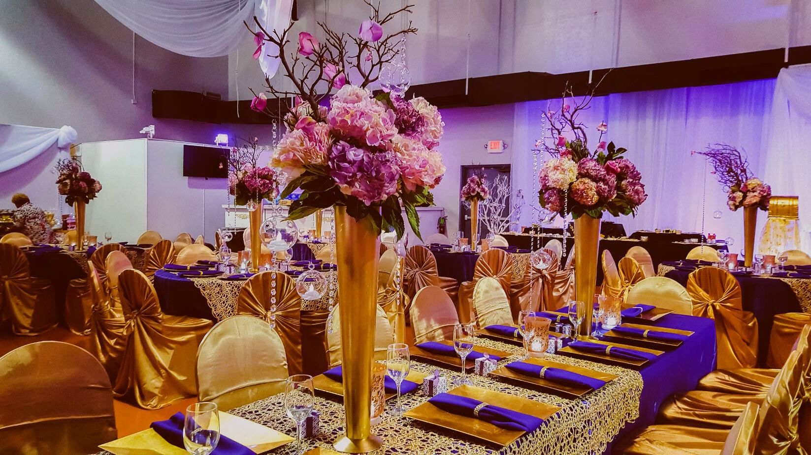 Best 50+ Purple And Gold Decoration Ideas