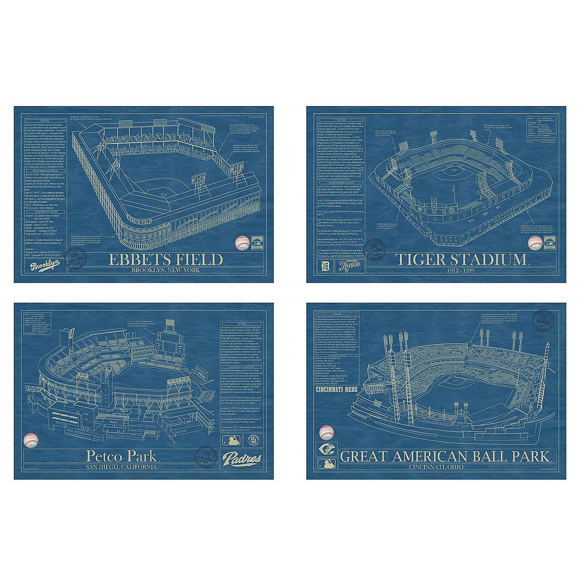 Baseball stadium blueprints malvernweather Choice Image
