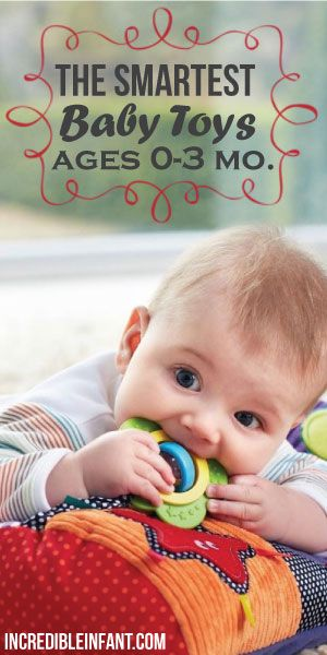 The Smartest Baby Toys 0 3 Months Baby Activities Pinterest