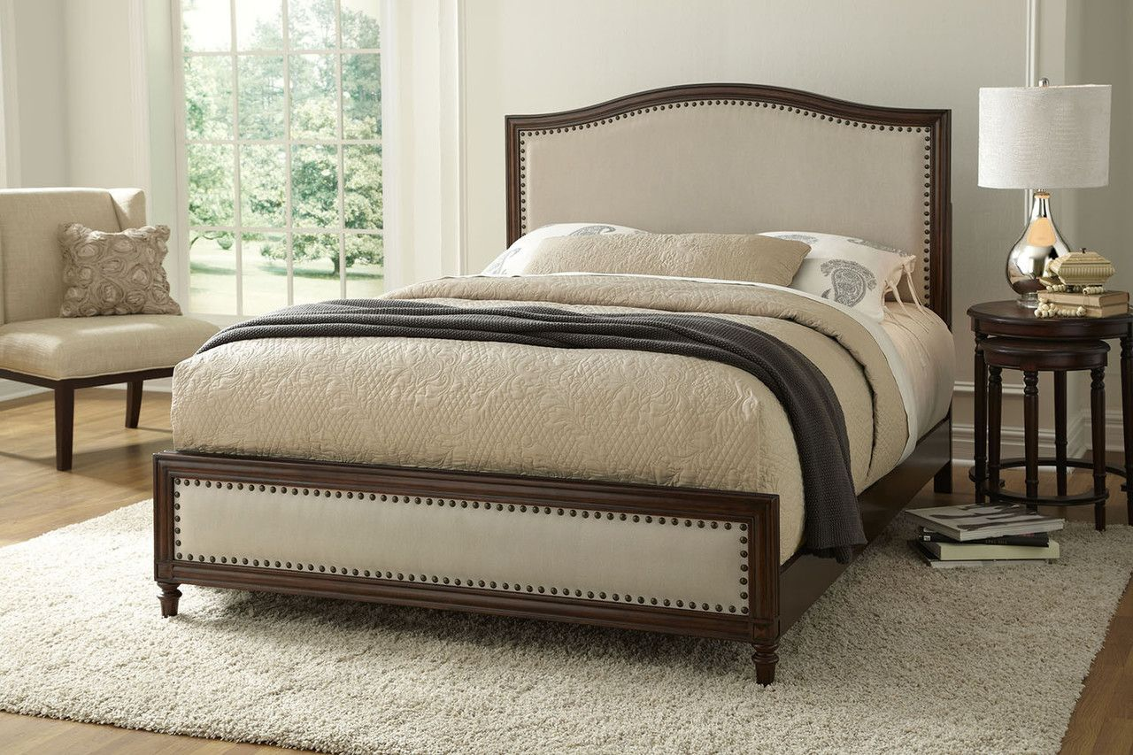 Fashion Bed Group Grandover Wood Upholstered Bed in