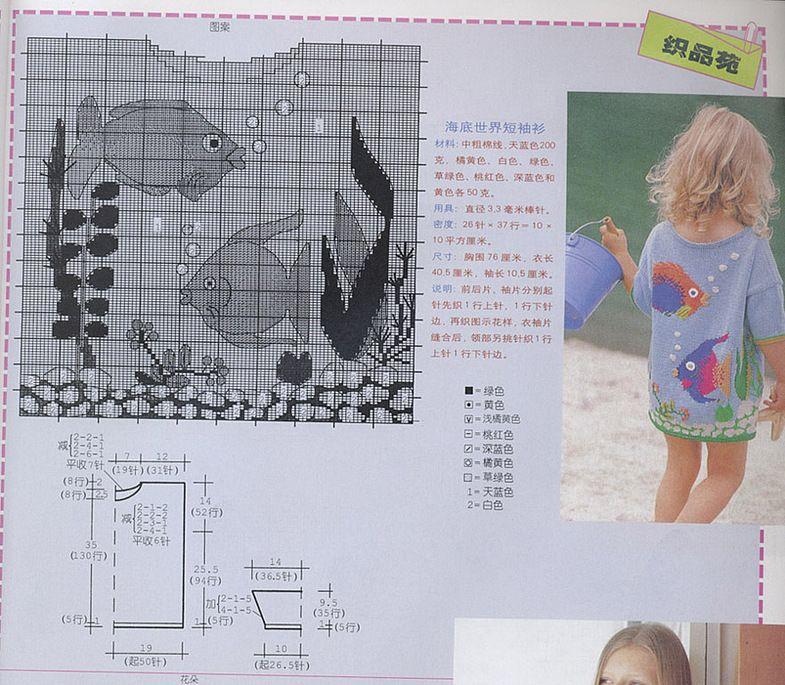 Вяжем детям спицами с картинками