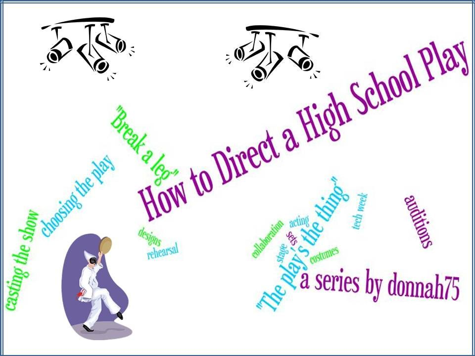 How to Direct a High School Play - What to Include in the Audition - audition form