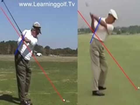 Moe Norman vs. Ben Hogan - Comparison golf swing analysis video ...