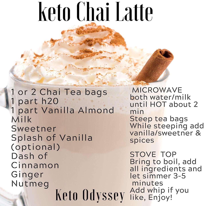 Keto Chai Latte Recipe