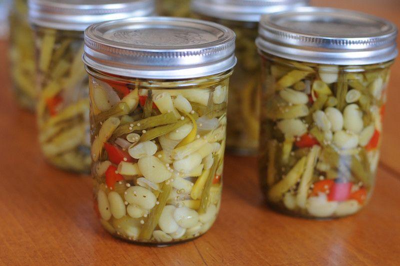 Pickled Three Bean Salad | Canning | 'Tis the Season