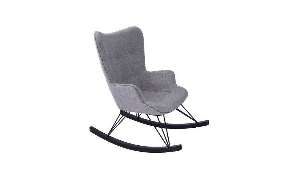 kawola schaukelstuhl stoff versch farben fredy home. Black Bedroom Furniture Sets. Home Design Ideas