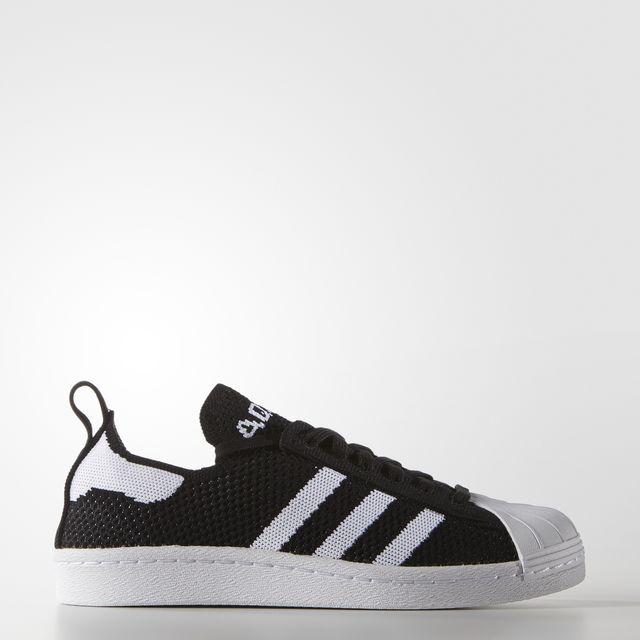 Womens Superstar 80s Primeknit Low-Top Sneakers adidas hYD546qE9