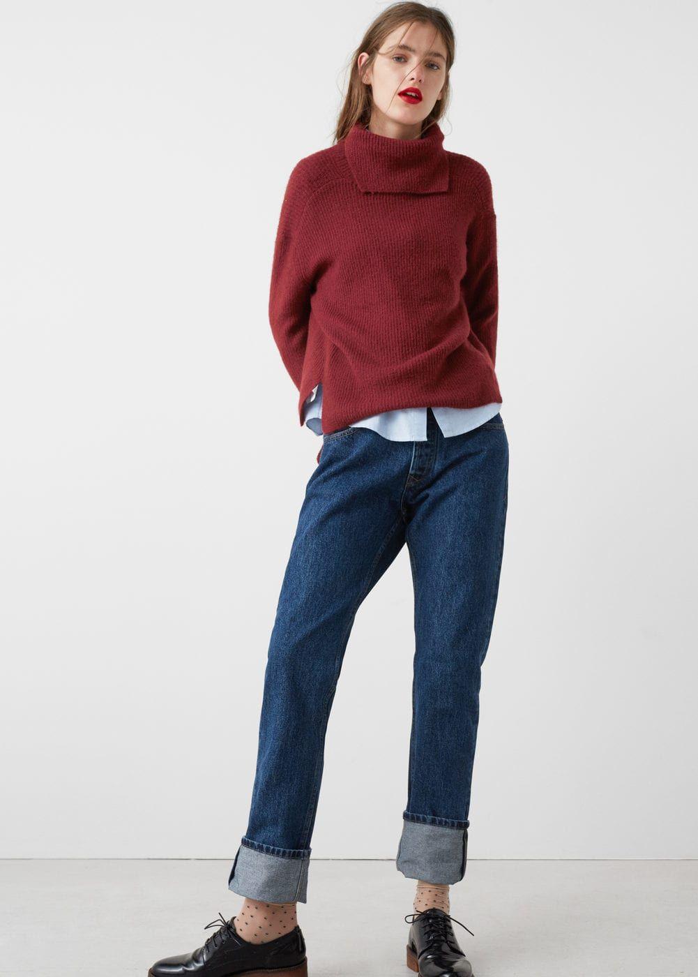 터틀넥 스웨터 | MANGO 망고