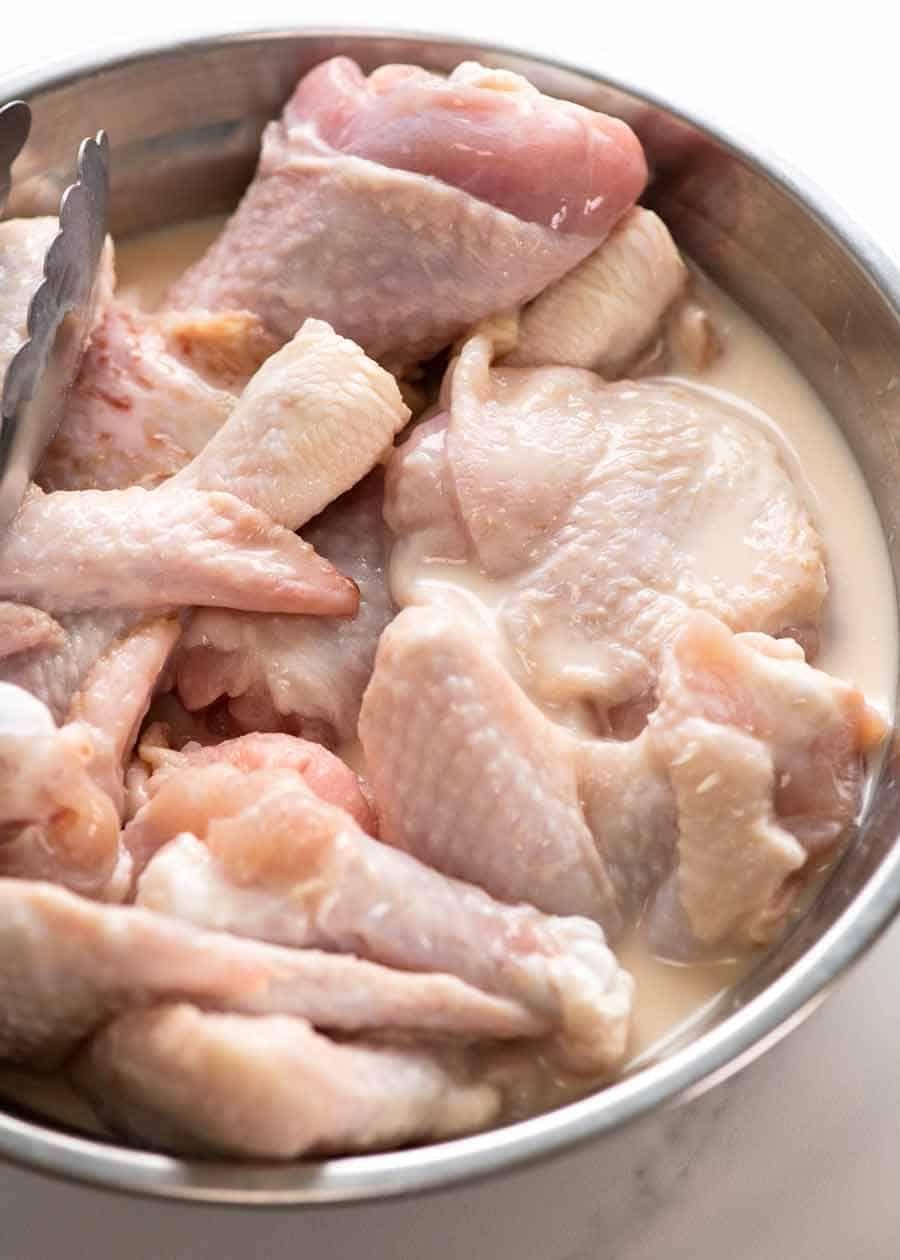 Fried Chicken Recipe In 2020 Fried Chicken Making Fried Chicken Recipetin Eats