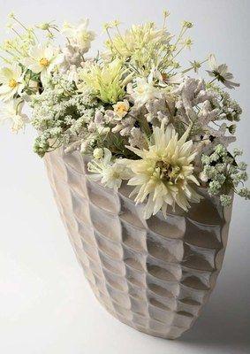 Bouquet Corail, coll. Essential Whites, Sia - Fleurs artificielles ...